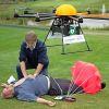 Drónon érkezik a defibrillátor