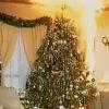 Így ég le a karácsonyfa